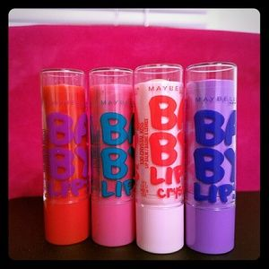 Maybelline Baby Lips Balm (4 pack)